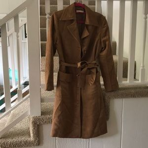 H&M Jackets & Coats - H&M Suede Trench Coat